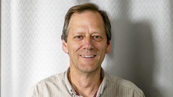 Portrait of Colin Aldred, business owner of Aerial Artwork